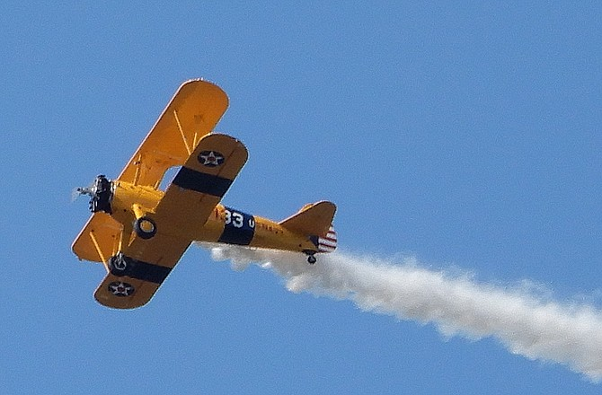 One of the planes from the Flying Circus Airshow.