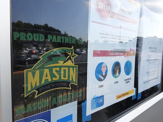 Students coming to George Mason University this month will have pandemic rules to follow.