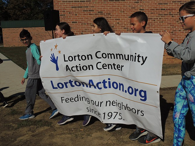 School supply drive at the Lorton Community Action Center