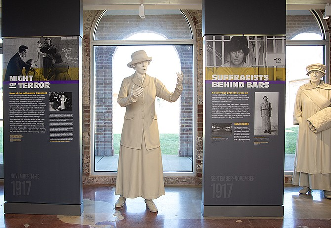 The Lucy Burns Museum will commemorate 91 years of prison history on the site — the Workhouse Arts Center funded, designed, and renovated a new museum, restoring a decrepit prison building vacated in 2001.