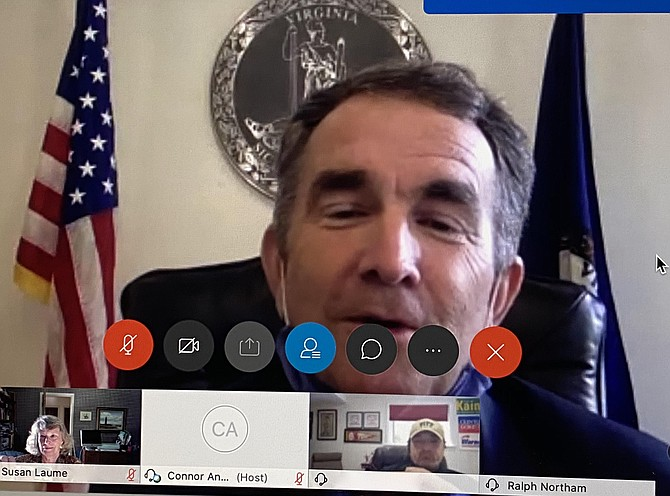 Governor Ralph Northam holds virtual animal bill signing ceremony.