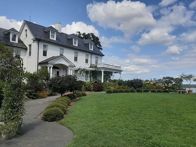 The River Farm in Mount Vernon is going up for sale.