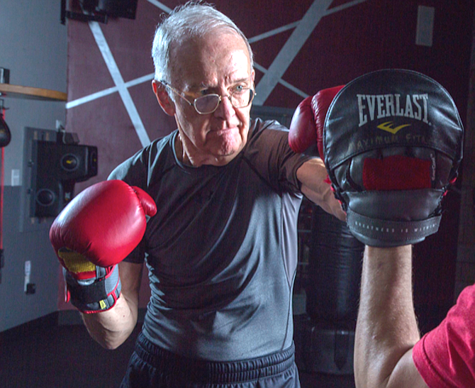 Jim Owen started working out for the first time at age 70. Now at 79, he says he's in the best shape of this life.