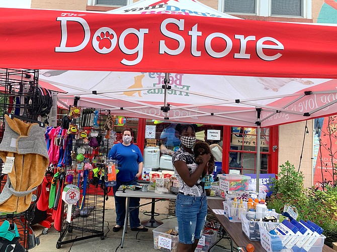 A city-wide sidewalk sale is one of many events sponsored by local business organizations.