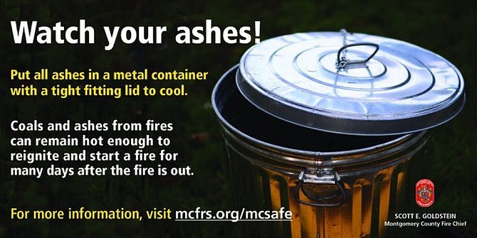 Ashes can be as DANGEROUS as the actual #fire in your fireplace/fire pit/grill. Serious issue, friends. http://bit.ly/2KszSLH Never empty ashes directly into a trash can. Allow ashes to cool before disposal. Place in a tightly covered metal container more than 10 feet from your home.