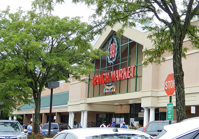 The exterior of the new 99 Ranch Market in Fairfax City.