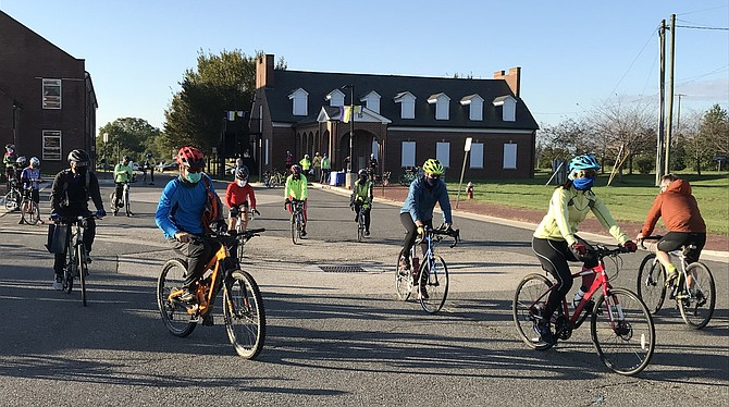 Approximately 230 riders participated in the 5th Annual Tour de Mount Vernon.