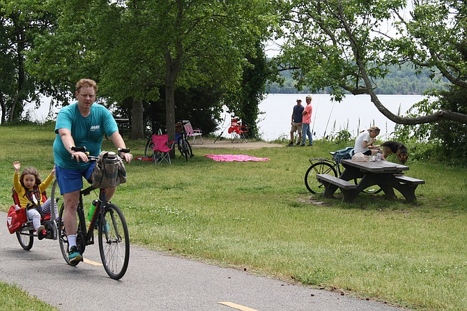 A variety of trail users is identified on the study as a challenge to planners.
