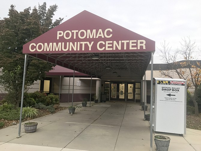 Eleven Early Voting Centers will be open across the County, including one at Potomac Community Center, 11315 Falls Road, where there is also a Ballot Drop Box. Ballots can be dropped until Election Day, Tuesday, Nov. 3. by 8 p.m.