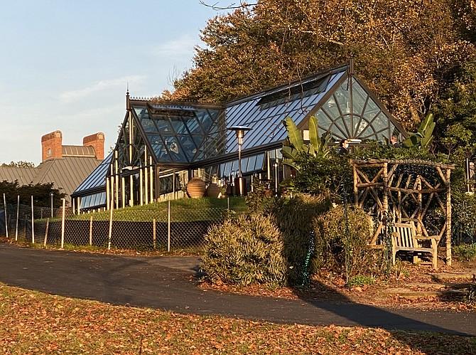 Meadowlark Gardens Botanical Park celebrates the opening of new Volgenau Conservatory.