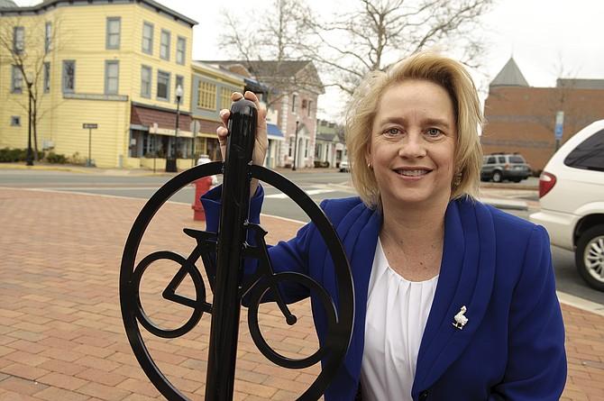 Town of Herndon Mayor-Elect Sheila Olem.