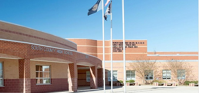South County High School, 8501 Silverbrook Road, Lorton.