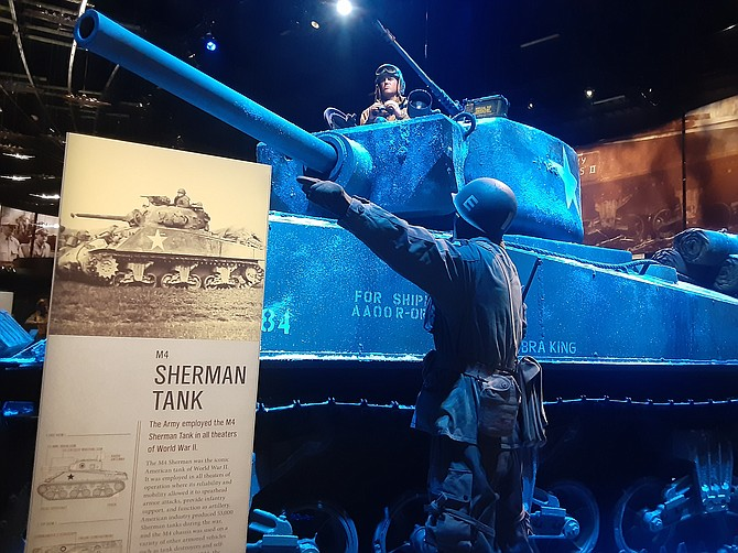 Tanks, guns and life-like dioramas are just part of the US Army museum on Fort Belvoir.