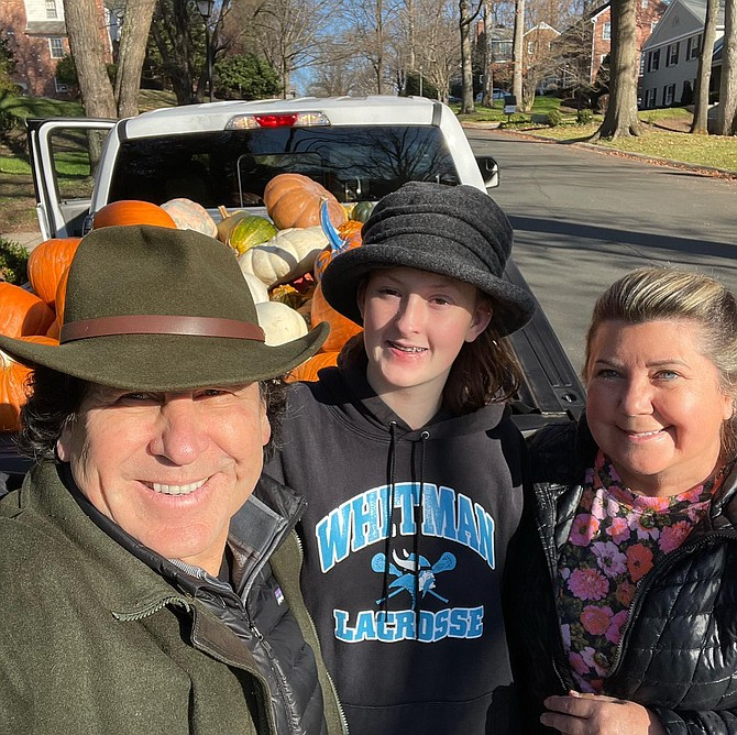 Dean Jabs, Wren Jabs and Becky Pugh.