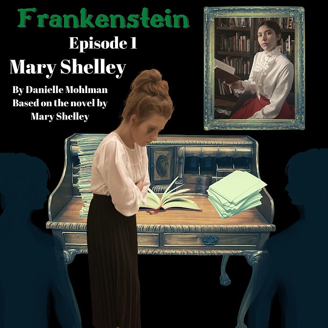 Mount Vernon High School has produced Frankenstein as a series of audio recordings.