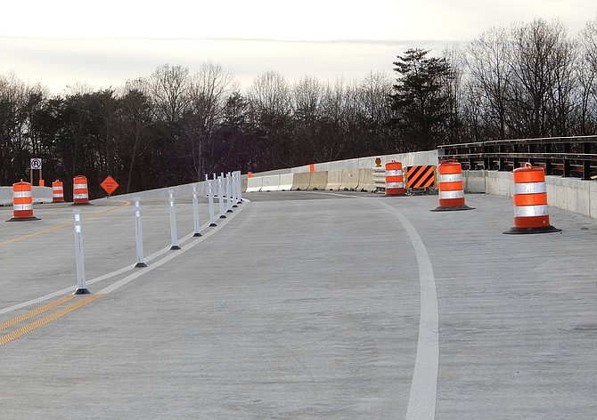 This is the new Route 28 overpass, connecting people from Chantilly directly to Centreville.
