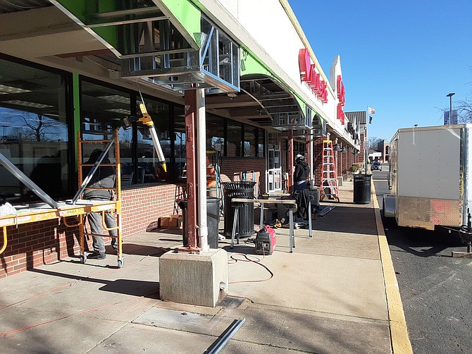 Sometimes a shopping center facelift will do the trick.