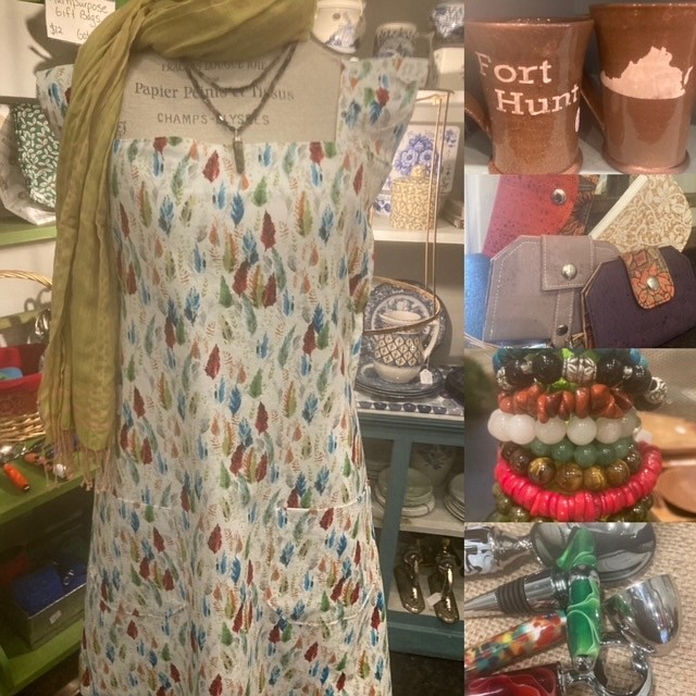 There's an assortment of locally made and new gifts at Re-Design in a Day, just one of the gift shops in Mount Vernon.