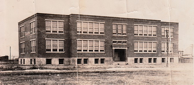 Early Parker-Gray High School, celebrating its 100th anniversary this year.