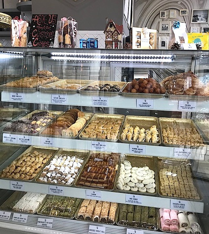 Regardless of when anyone stops in, a sampling of pastries is a must.