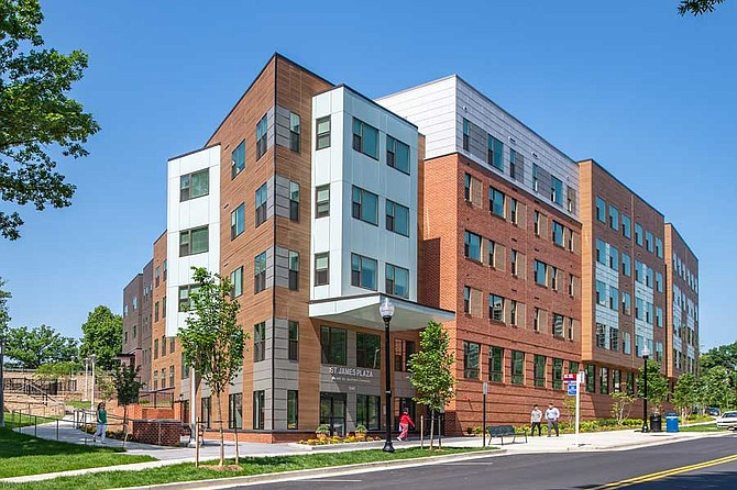 The 2020 Excellence in Housing Affordability Award from Urban Land Institute (ULI) Washington recognizes AHC's Alexandria, Va. apartment community St. James Plaza for providing quality affordable housing that enhances people's lives.
