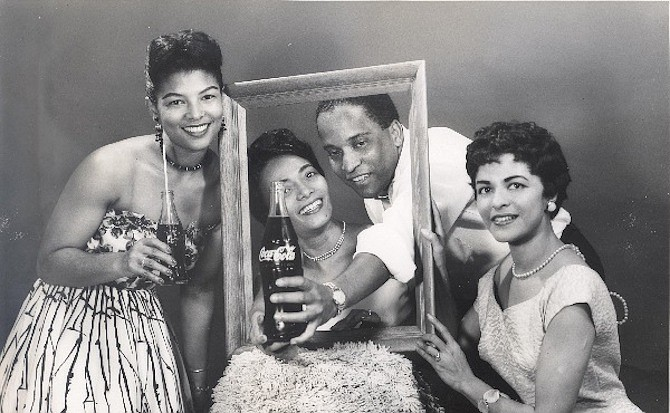 A photograph from the Moss Kendrix collection at the Black History Museum.