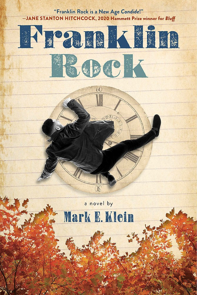 """Franklin Rock"" is Dr. Mark Klein's third book and his first novel. It is available on Amazon."