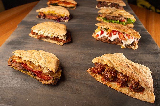 Ambar's selection of shareable sandwiches, a new feature.