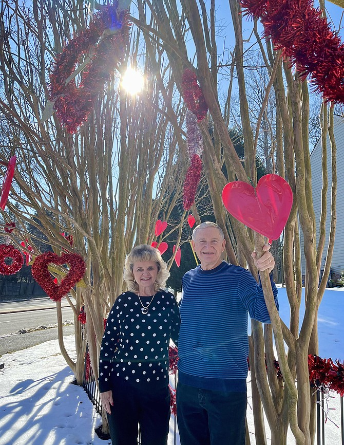 Burke's Larry and Jan Gould warm hearts for Valentine's Day.