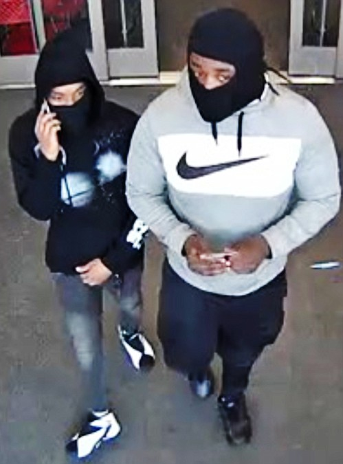 The photo of the suspects from a store in Prince George's County where the credit cards were being used.