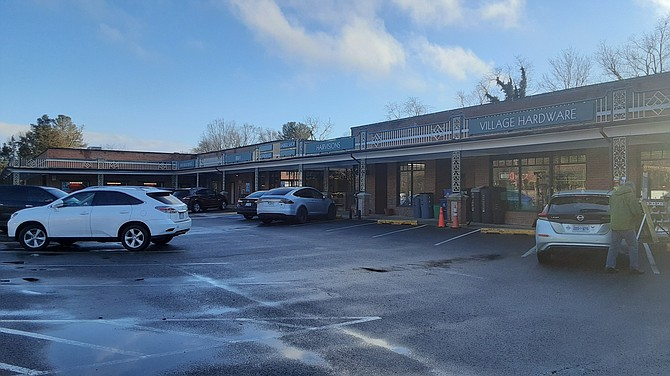 Hollin Hall Shopping Center was one of the areas targeted in the last month.