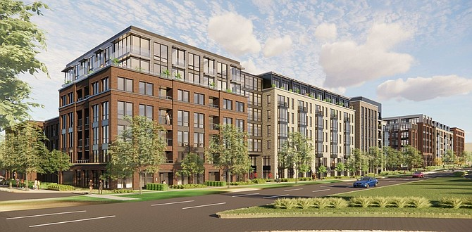 The Heritage at Old Town project in the Southwest quadrant of Old Town was unanimously approved by the Alexandria City Council Feb. 20.