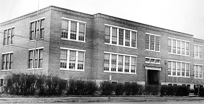 The Old Charles Houston Elementary School.