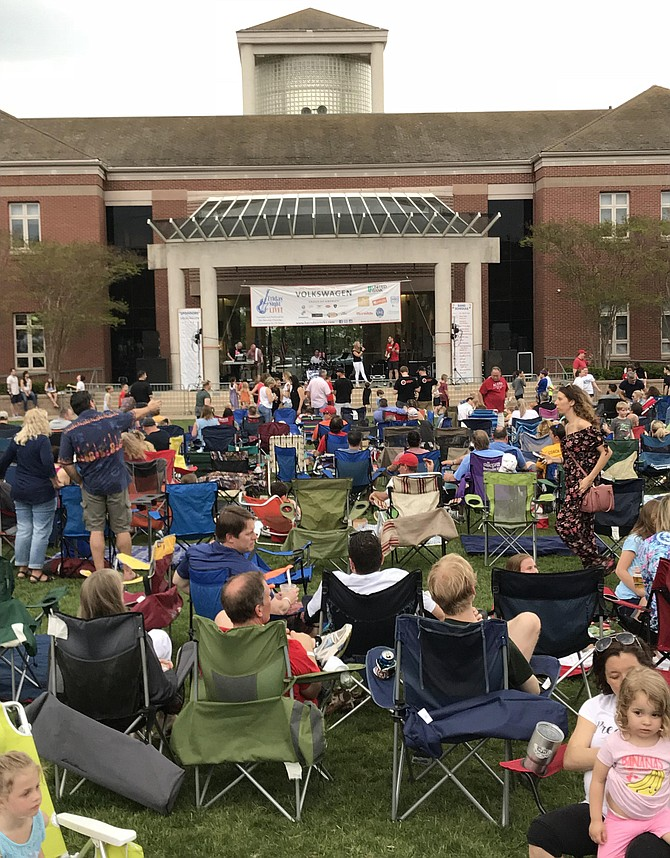 Friday Night Live! May 4, 2018, produced by the Herndon Chamber of Commerce  (file photo).