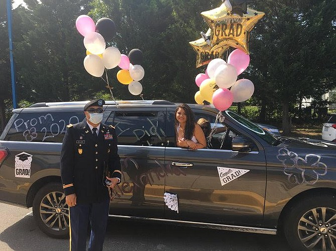 For Fairfax County high schools, the car parade is one graduation tradition from last year that many hope will stick around for years to come. For the graduating seniors, the school system is still planning activities this year to make the graduation a memorable event.