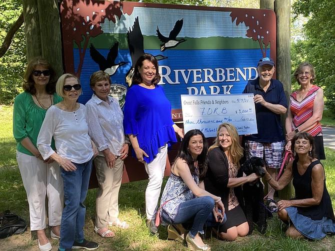 (From bottom left) Silvie Kiser, Karyn Ryan, Diane Lahey, (from top left) Michelle Ouellet, Eve Loudenback, Judie Keithley, June Kelly, Hugh Morrow, and Kristi Robson.