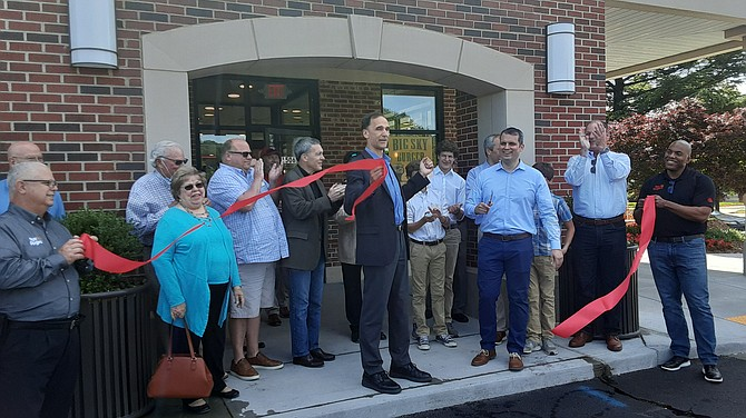 The ribbon at Roy Rogers in the Belle View Shopping Center was cut, welcoming a neighborhood gathering place back after a fire in 2019.