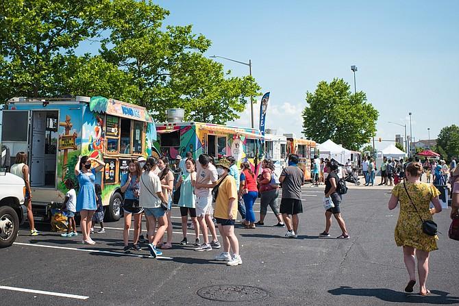 Food trucks were a big hit at the Taste of Springfield festival last weekend.