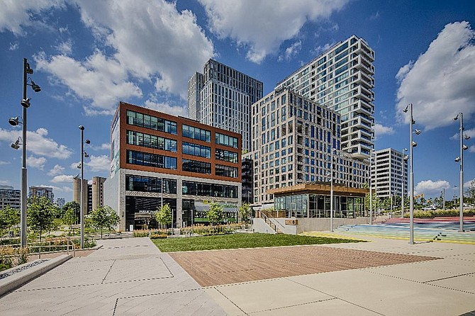 """Boro Park, Tysons, site of the 1st Stage performance of """"A New Brain."""""""
