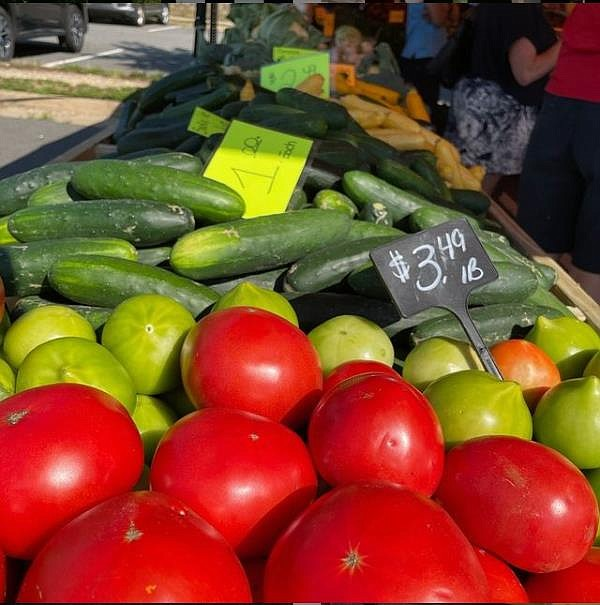 Fresh produce and more are thriving at the county's farmer's markets.