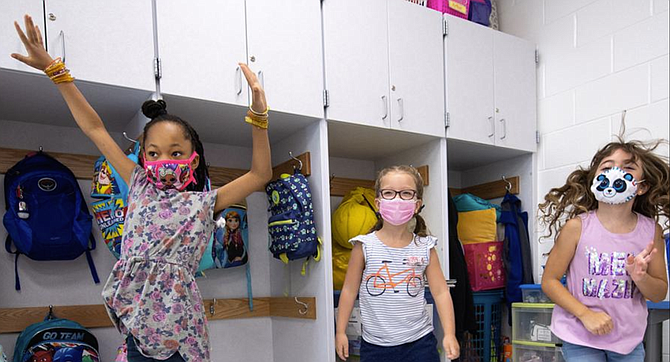 Returning Strong and Staying Strong – Fairfax County Public School students. Source: Return to School - Safety | Fairfax County Public Schools