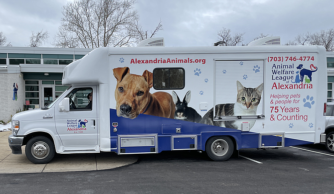 The arrival of the Waggin' Wheels surgical vehicle meant the AWLA could help even more animals across the community.