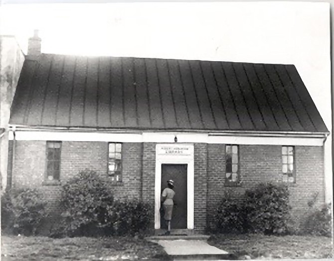 The Robert H. Robinson Library was opened for African Americans at the corner of Wythe and N. Alfred Street on April 24, 1940, in order to maintain the Kate Waller Barrett Library as a whites-only institution. The Alexandria Library system did not begin to integrate until 1959 with full integration taking place in July of 1962. The building is now the home of the Alexandria Black History Museum.