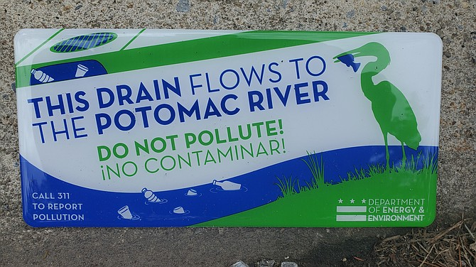 The key is to prevent trash and plastics from entering the waters of the Potomac River.