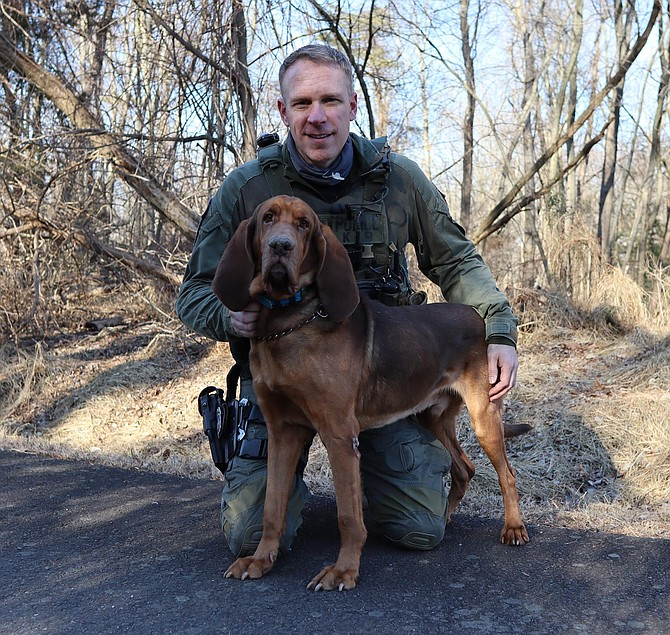 """FCPD: """"Thank you for your service, K9 Silas."""""""
