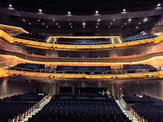 FSO will open its season on Oct 9 at the new 1,600 seat Capital One Hall in Tysons, VA, which nears completion