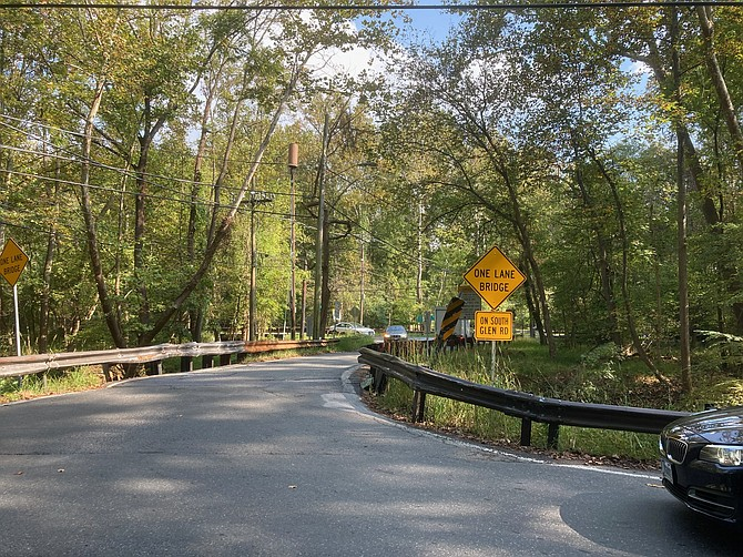 Constant vigilance: WMCCA learned the Department of Transportation was considering installing two traffic lights at the one lane bridges in the Glen.