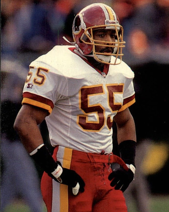 Former Washington Football Team linebacker Andre Collins will be the featured speaker at the Oct. 20 meeting of the Alexandria Sportsman's Club.