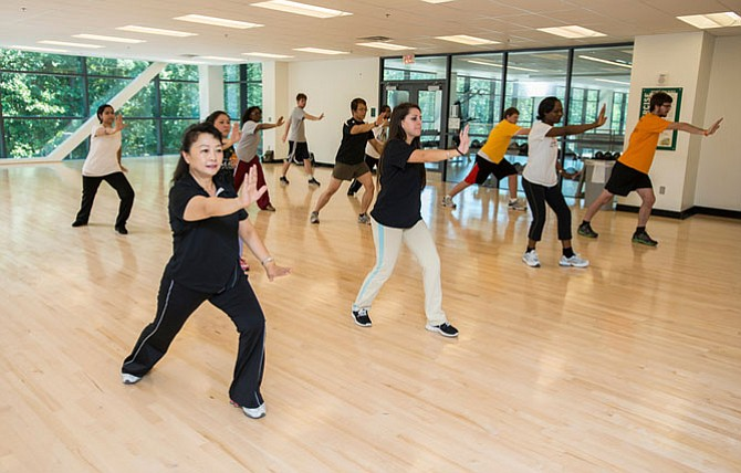 George Mason University's wellness efforts recently earned national recognition for the school.
