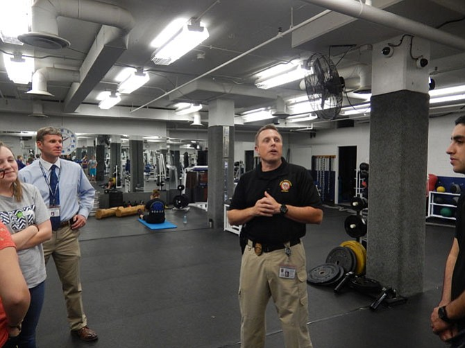 great falls police department gym